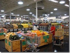 Sprouts specializes in what the chain calls farm-fresh produce.